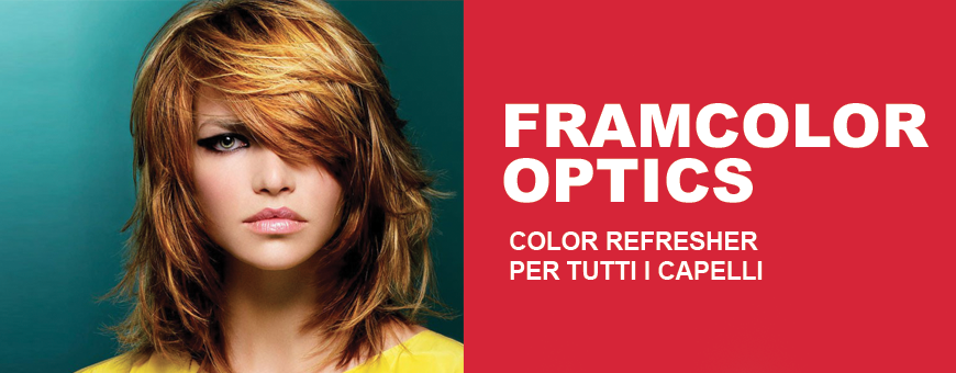 Framesi Framcolor Optics is a color Refresher for all hair types