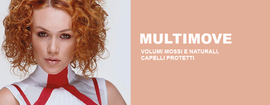 Framesi Multimove wavy and natural volumes, for protected hair.