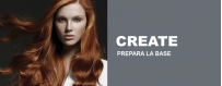 Framesi By be you Create prepara la base di lavoro per lo stilista